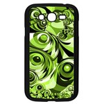 Retro Green Abstract Samsung Galaxy Grand DUOS I9082 Case (Black)
