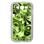 Retro Green Abstract Samsung Galaxy Grand DUOS I9082 Case (White)