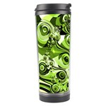 Retro Green Abstract Travel Tumbler