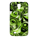 Retro Green Abstract Samsung Galaxy Mega 6.3  I9200 Hardshell Case