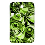 Retro Green Abstract Samsung Galaxy Tab 3 (7 ) P3200 Hardshell Case