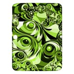 Retro Green Abstract Samsung Galaxy Tab 3 (10.1 ) P5200 Hardshell Case