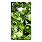 Retro Green Abstract Nokia Lumia 720 Hardshell Case