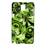 Retro Green Abstract Samsung Galaxy Note 3 N9005 Hardshell Case