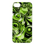 Retro Green Abstract Apple iPhone 5S Hardshell Case
