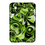 Retro Green Abstract Samsung Galaxy Tab 2 (7 ) P3100 Hardshell Case