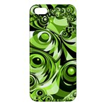 Retro Green Abstract iPhone 5S Premium Hardshell Case