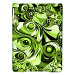 Retro Green Abstract Apple iPad Air Hardshell Case