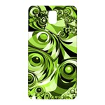 Retro Green Abstract Samsung Galaxy Note 3 N9005 Hardshell Back Case