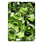 Retro Green Abstract Kindle Fire HD 7  (2nd Gen) Hardshell Case