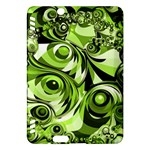 Retro Green Abstract Kindle Fire HDX 7  Hardshell Case