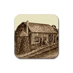 Sugarcreek Barn - Ave Hurley - Rubber Coaster (Square)
