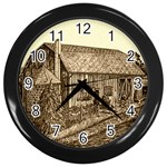 Sugarcreek Barn - Ave Hurley - Wall Clock (Black)