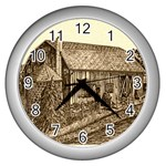 Sugarcreek Barn - Ave Hurley - Wall Clock (Silver)