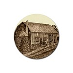 Sugarcreek Barn - Ave Hurley - Rubber Coaster (Round)