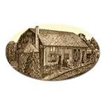 Sugarcreek Barn - Ave Hurley - Magnet (Oval)