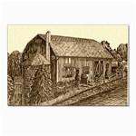 Sugarcreek Barn - Ave Hurley - Postcard 4  x 6