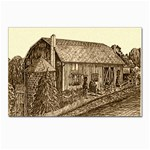 Sugarcreek Barn - Ave Hurley - Postcard 4 x 6  (Pkg of 10)