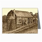 Sugarcreek Barn - Ave Hurley - Greeting Cards (Pkg of 8)