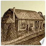 Sugarcreek Barn - Ave Hurley - Canvas 12  x 12