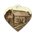 Sugarcreek Barn - Ave Hurley - Dog Tag Heart (One Side)