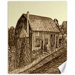 Sugarcreek Barn - Ave Hurley - Canvas 11  x 14