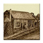 Sugarcreek Barn - Ave Hurley - Tile Coaster