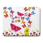 Butterfly Beauty Small Mouse Pad (Rectangle)