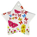 Butterfly Beauty Star Ornament