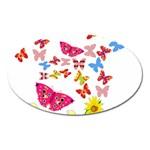 Butterfly Beauty Magnet (Oval)