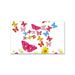 Butterfly Beauty Sticker 100 Pack (Rectangle)