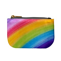 Acrylic Rainbow Coin Change Purse by StuffOrSomething