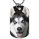 huskie Dog Tag (Two Sides)