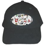Medieval Mash Up Black Baseball Cap