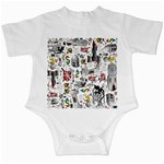 Medieval Mash Up Infant Bodysuit