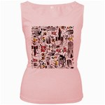 Medieval Mash Up Women s Tank Top (Pink)
