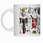 Medieval Mash Up White Coffee Mug
