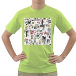 Medieval Mash Up Men s T-shirt (Green)