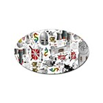 Medieval Mash Up Sticker 100 Pack (Oval)