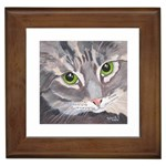 CAT 4 Painting Framed Tile