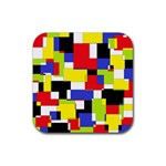 Mod Geometric Drink Coasters 4 Pack (Square)