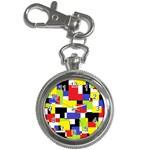 Mod Geometric Key Chain Watch