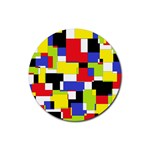 Mod Geometric Drink Coasters 4 Pack (Round)