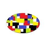 Mod Geometric Sticker 10 Pack (Oval)