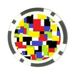 Mod Geometric Poker Chip
