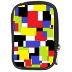 Mod Geometric Compact Camera Leather Case