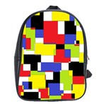 Mod Geometric School Bag (Large)