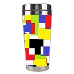 Mod Geometric Stainless Steel Travel Tumbler