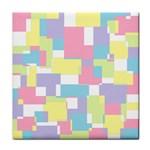 Mod Pastel Geometric Ceramic Tile