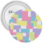 Mod Pastel Geometric 3  Button